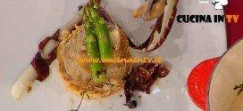 La Prova del Cuoco - ricetta Medaglione di vitello con riso basmati e radicchio grigliato alla soia