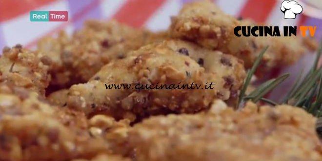 Molto Bene - ricetta Pescatrice in crosta di arachidi di Benedetta Parodi