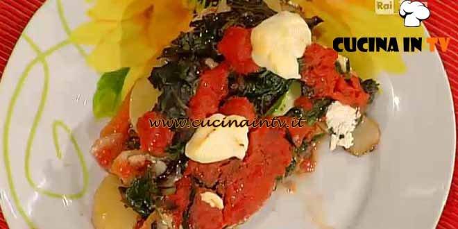 La Prova del Cuoco - Parmigiana di verdure ricetta Bianchi