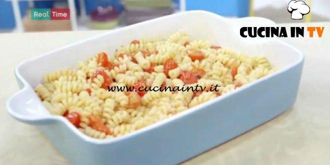 Molto Bene - ricetta Pasta con pomodorini al forno di Benedetta Parodi