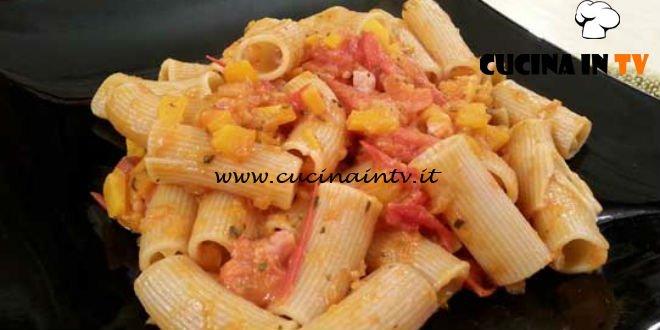 Cotto e mangiato - Pasta pomodorini e zucca ricetta Tessa Gelisio