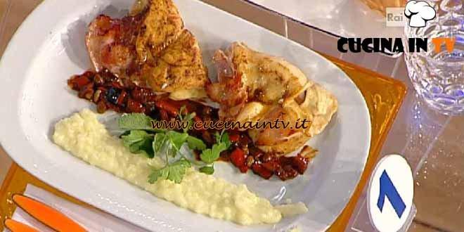 La Prova del Cuoco - ricetta Petto di pollo alla Valdostana