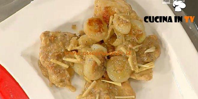 La Prova del Cuoco - Pollo alla birra ceci e fagioli ricetta Messeri
