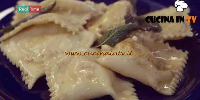 Molto Bene - ricetta Ravioli con fonduta di Benedetta Parodi