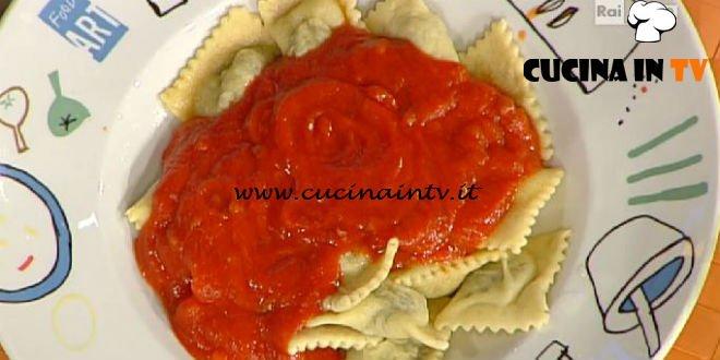 La Prova del Cuoco - ricetta Ravioli al ragù