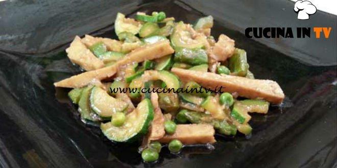 Cotto e mangiato - Seitan e verdure ricetta Tessa Gelisio