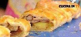 La Prova del Cuoco - Strudel con luganega patate e formaggio ricetta Mainardi