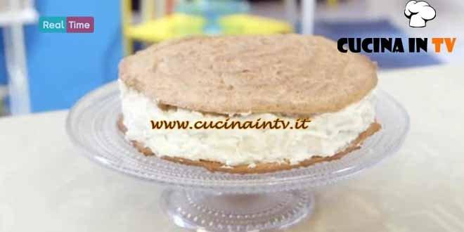 Molto Bene - ricetta Torta biscotto pere e ricotta di Benedetta Parodi