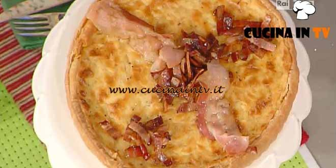La Prova del Cuoco - Tarte à l'oignon ricetta Moroni