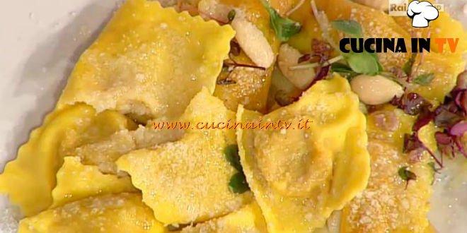 La Prova del Cuoco - Tortelli di zucca cotti e ricotti ricetta Parizzi