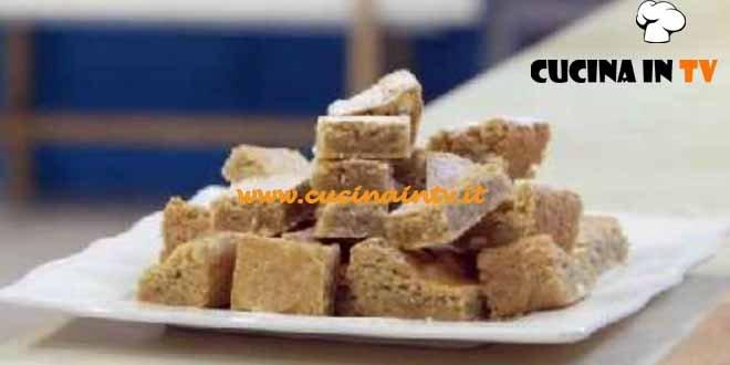Molto Bene - ricetta Blondies di Benedetta Parodi