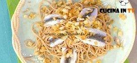 La Prova del Cuoco - Bigoli con sarde ricetta Scarpa