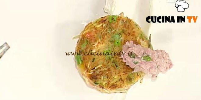 La Prova del Cuoco - Burger verde patate viola e lampascioni rossi ricetta Ricci