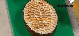 La Prova del Cuoco - Colomba al lampone e meringa flambé ricetta Ragona