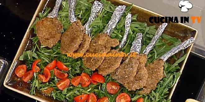 La Prova del Cuoco - Costolette di agnello impanate al rosmarino ricetta Moroni