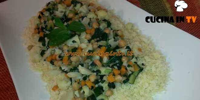 Cotto e mangiato - Cous cous di verdure di stagione ricetta Tessa Gelisio
