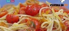 Molto Bene - ricetta Crudaiola alla bottarga di Benedetta Parodi
