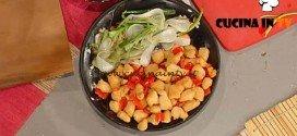 La Prova del Cuoco - Dadolata di pollo al limone ricetta Moroni