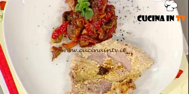 La Prova del Cuoco - ricetta Fettine di maiale panate con caponata