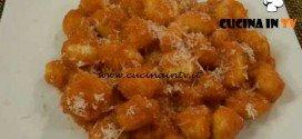 Cotto e mangiato - Gnocchi alla crema di peperone ricetta Tessa Gelisio