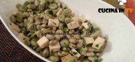 Cotto e mangiato - Insalata di fave con prosciutto cotto ricetta Tessa Gelisio