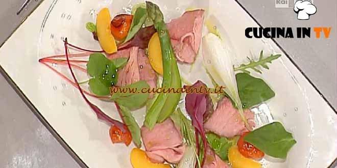 La Prova del Cuoco - Insalata estiva di roast beef ricetta Ribaldone