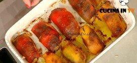 La Prova del Cuoco - Involtini di peperoni con tonno ricetta Moroni