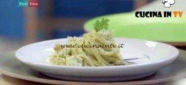 Molto Bene - ricetta Linguine al pesto di mandorle e scampi di Benedetta Parodi