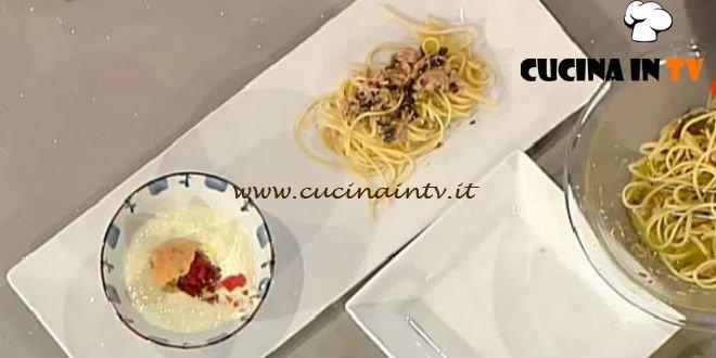 La Prova del Cuoco - Linguine al tonno ricetta Pomata