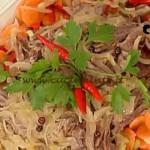 La Prova del Cuoco - Manzo freddo in agrodolce ricetta Messeri