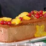 La Prova del Cuoco - Mattonella al cioccolato zenzero arance ricetta Romani