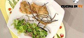 La Prova del Cuoco - ricetta Melanzane dorate con misticanza