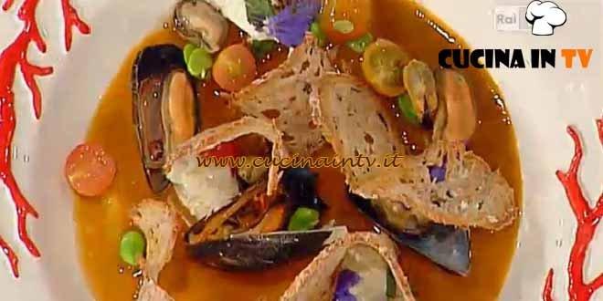 La Prova del Cuoco - Pane alle alghe cozze e pecorino ricetta Pascucci