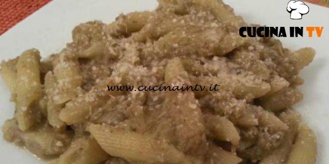 Cotto e mangiato - Pennette con crema di melanzane ricetta Tessa Gelisio