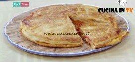 Molto Bene - ricetta Pizza di sfoglia di Benedetta Parodi