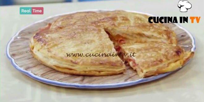 pizza di sfoglia ricetta benedetta parodi da molto bene | cucina in tv - Ricette Di Cucina Benedetta Parodi
