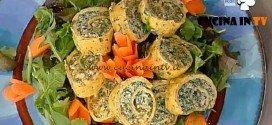 La Prova del Cuoco - Rotoli di uova e carote farciti ricetta Barzetti