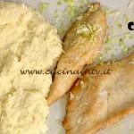 La Prova del Cuoco - ricetta Scaloppa al limone con purè di bufala