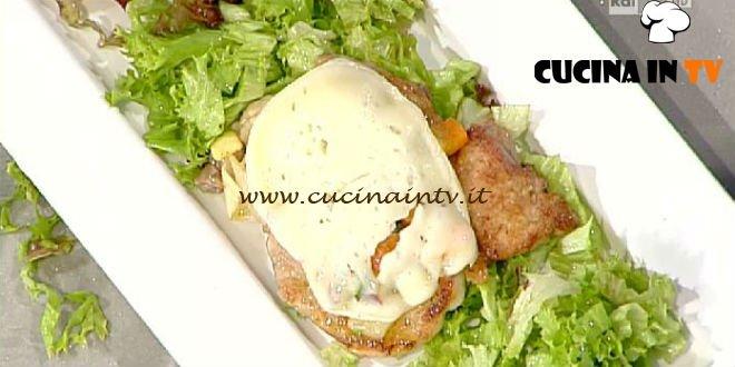 La Prova del Cuoco - ricetta Scaloppine alle verdure e marzolino