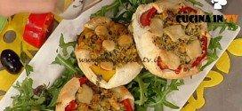 La Prova del Cuoco - Sfoglie ripiene di peperone e scamorza ricetta Barzetti