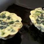 Cotto e mangiato - Sformato di asparagi e spinaci ricetta Tessa Gelisio