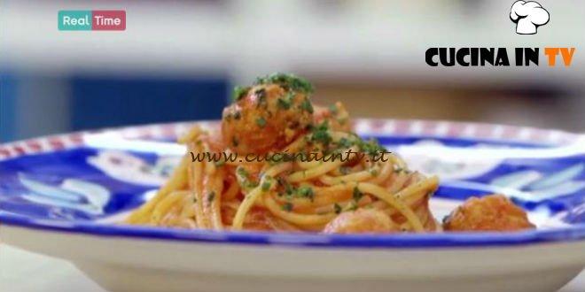 Molto Bene - ricetta Spaghetti and fishballs di Benedetta Parodi