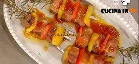La Prova del Cuoco - Spiedini di maiale alle spezie ricetta Ribaldone