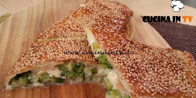 Cotto e mangiato - Strudel con verdure e formaggi ricetta Tessa Gelisio