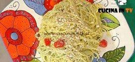 La Prova del Cuoco - Tagliolini con pesto di rucola e anacardi ricetta Barzetti