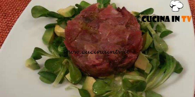 Cotto e mangiato - Tartare di tonnetto ricetta Tessa Gelisio