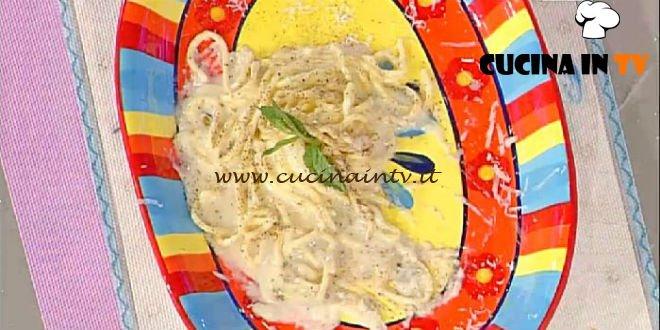La Prova del Cuoco - Tonnarelli cacio e pepe ricetta Bottega