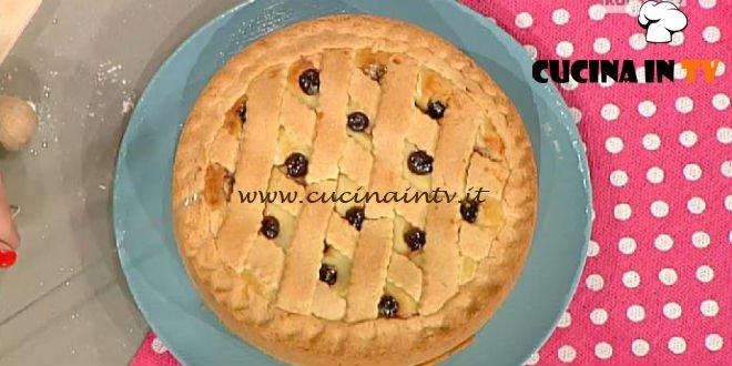 La Prova del Cuoco - Torta di crema e amarene ricetta Moroni