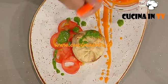 La Prova del Cuoco - Tortini salati con zucchine Camembert e pesto alla menta ricetta Ribaldone