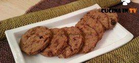 Cotto e mangiato - Biscotti colazione al muesli ricetta Tessa Gelisio